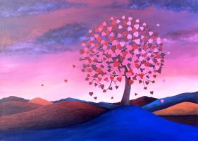 Tree of hearts by CarlBurns