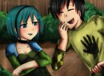 Gwen and Trent by Aleriy