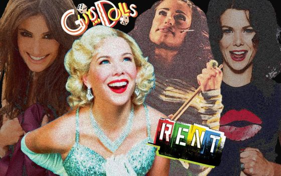 Rent/Guys and Dolls by kate-harvey-art
