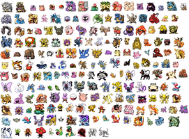 Revived Edition Pokedex Order + Bonus GEN II by NaoTheSillyDuffer