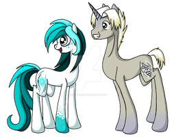 Gelid Zephire and Jet Stream by LillyCheese