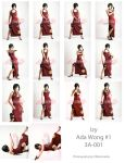 Donator Pack 3a izy Ada Wong by jagged-eye