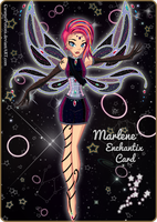 .: Marlene's Enchantix Card :. by CaramelPotions