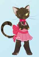 Draw Your Cat In A Dress Day by Icarusis