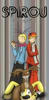 Spirou and Fantasio by simondrawsstuff