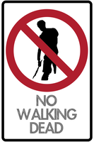 No Walking Dead Vector by BlaydeXi