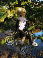 Tree-climbing Girl by Lavandula-BJD