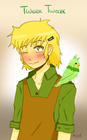 Tweek and Parrot by DaniHoshi