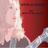 Dax Riggs cd cover design by kaisaklaani