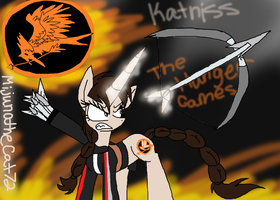 The Hunger Games MLP - Katniss by Fennix-Cat
