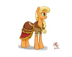 Journey Of The Spark Concept - Applejack by Ellybethe