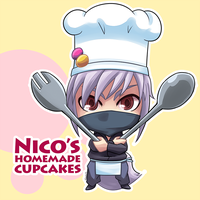 Commission - Nico's Homemade Cupcakes by AT-Studio