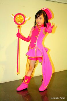 serreniethy fionah cosplaying card captor sakura by jhedwin