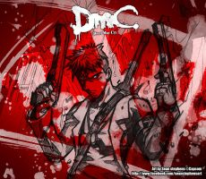 Dante and the Malice: Red by omniblade80
