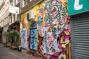 Amsterdam, in the street by Aelxis