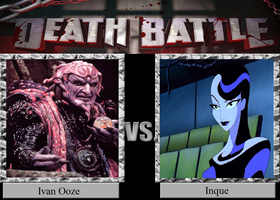 Death Battle 70: Ooze VS Ink by HailfirePhantom