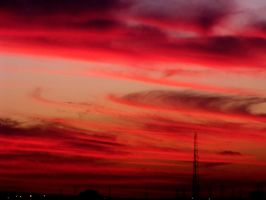 Watch the night sky fading red by ChemicalSunflower