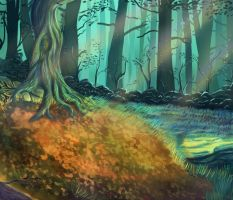 Forest by RedBiter
