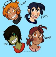 Yonel and Zoey and those guys by remnant-imaginations