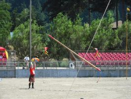 Caber toss 01 by RanWal