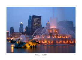 Buckingham Fountain by yenom