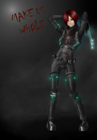 Dead Space girl Re-mastered by Hazard-Trooper
