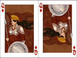 Queen of diamonds: Nymeria of the Rhoyne by SephyStabbity