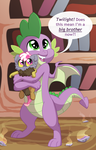 Big Brother Spike by Lopoddity
