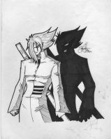 me and my shadow by shytype001