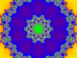 Layered Fractal.1069 by infinityfractals