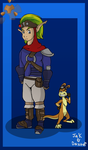 Jak and Daxter by charliethemew012