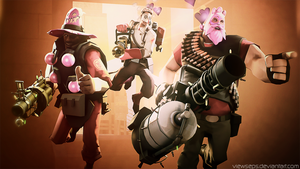 Team Fortress 2 (TF2) - D and H and M by ViewSEPS