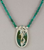 Mermaid, Goddess of the Ocean by KellyMorgenJewelry