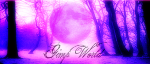 Violet moon for Gimp World by OperaMorgana