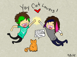 Yay Cats Lovers! by ImHerMonster