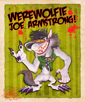 Halloween 2012: Beej the Werewolf by GreenDayComix