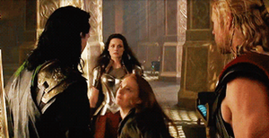 Jane slapping Loki gif by Marianagmt
