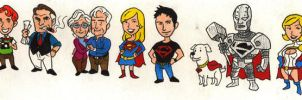 Superman Heroes of Metropolis by Mbecks14