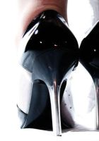 Perspex heels stilletoes by SuseyG-Stock