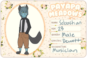 Payapa Meadows :: Bastian by Shadow-Chu