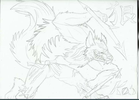 Kai's outline by Tybo226