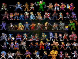 Namco X Capcom Wallpaper 2 by TheALVINtaker