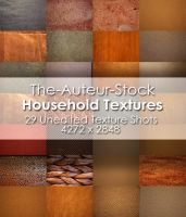 29 Household Textures Pack by The-Auteur-Stock
