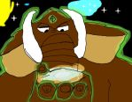Tablet Test: Macro Master Mogul the Mammoth by SilverZeo