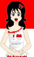 I love Indonesia by t-for-tata