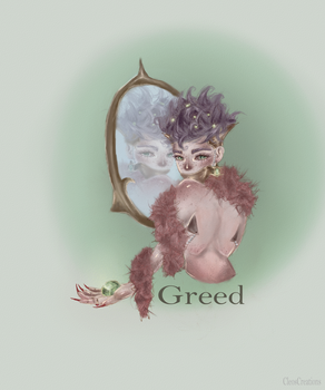 7 deadly sins-Greed by CleosCreations