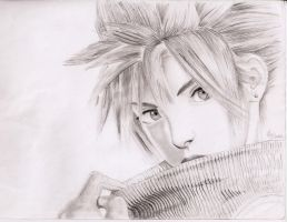 cloud final fantasy by allanviniciuus