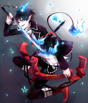 Blue exorcist by Daenarys