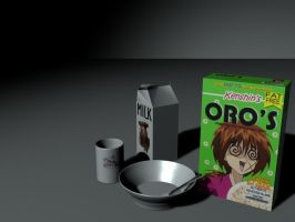 Kenshin Oros Cereal by nassersays