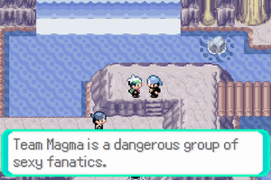 Stupid Sexy Team Magma by fuckyeahpokevillains